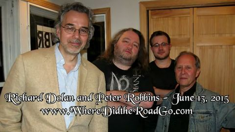 Richard Dolan & Peter Robbins on Roswell Slides, Breakaway Civilizations,& False Flags - 6/13/2015
